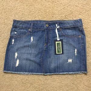 Polo Jean Skirt